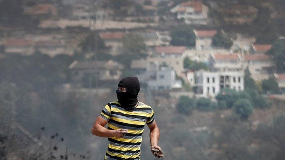 Militante palestino.