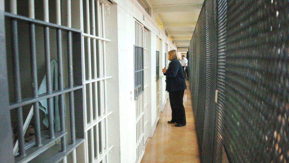 Una prisión en EE.UU.