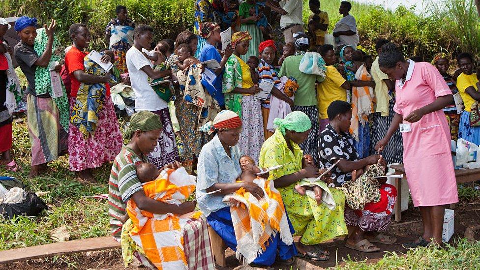 Programa de salud en Uganda