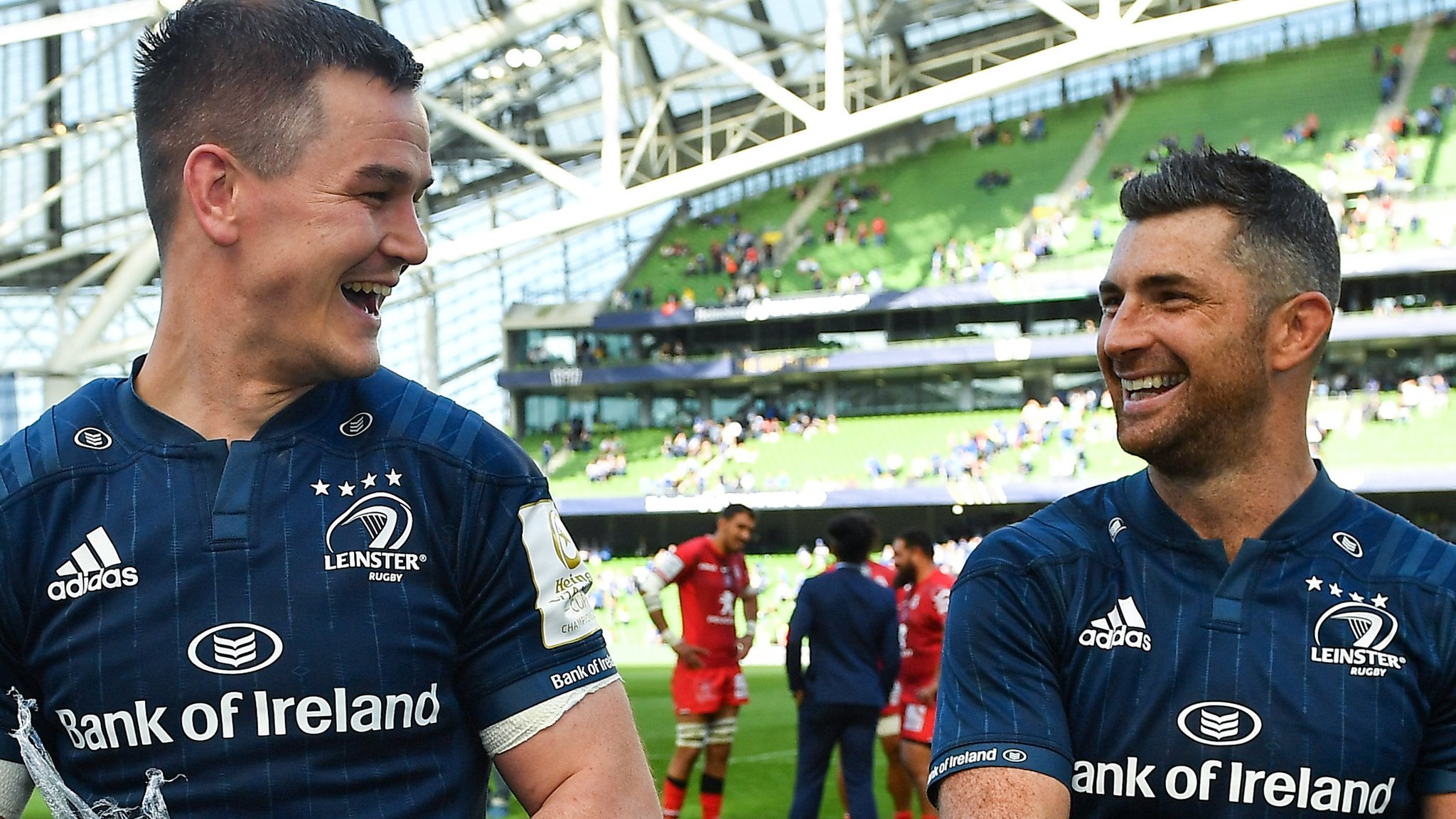 Leinster beat Toulouse to set up final with Saracens