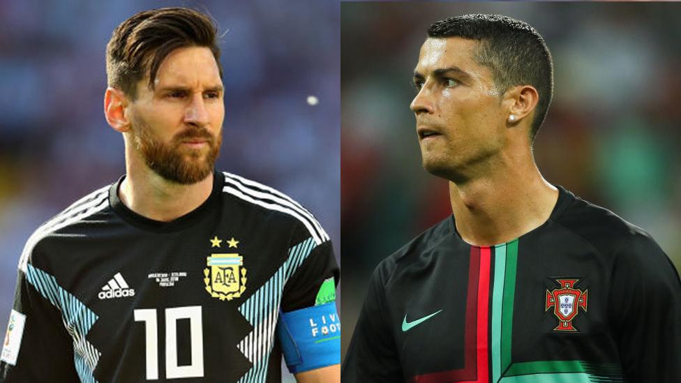 Lionel Messi y Cristiano Ronaldo han competido durante la última década por el puesto de mejor jugador del mundo.
