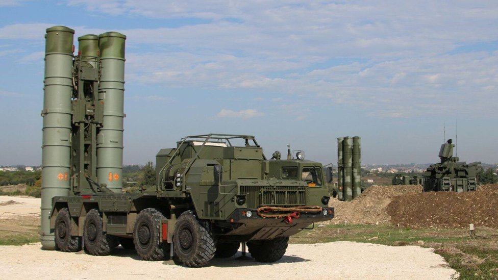 S-400 in Syria - Russian Defence Ministry pic