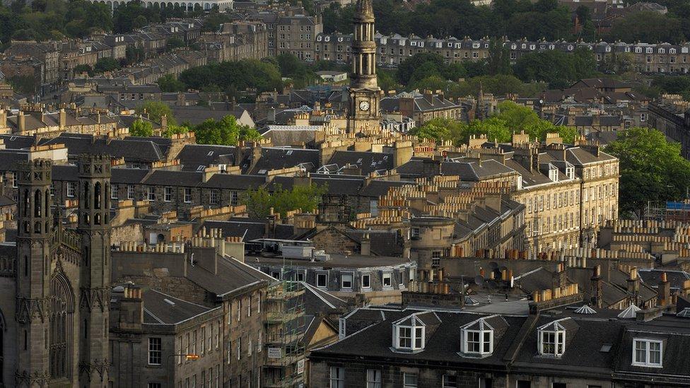 Edinburgh view