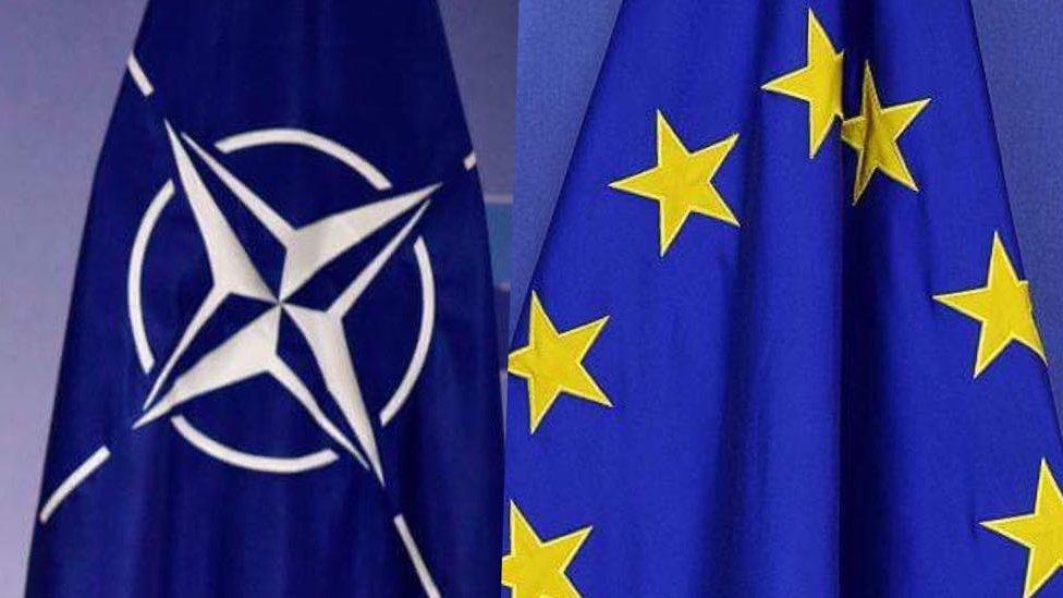 Рада відправила до КС зміни до Конституції про ЄС і НАТО: що це означає