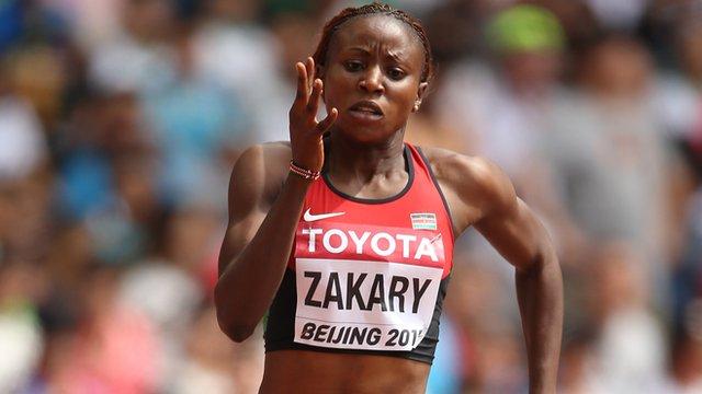 Kenyan 400m runner Joyce Zakary