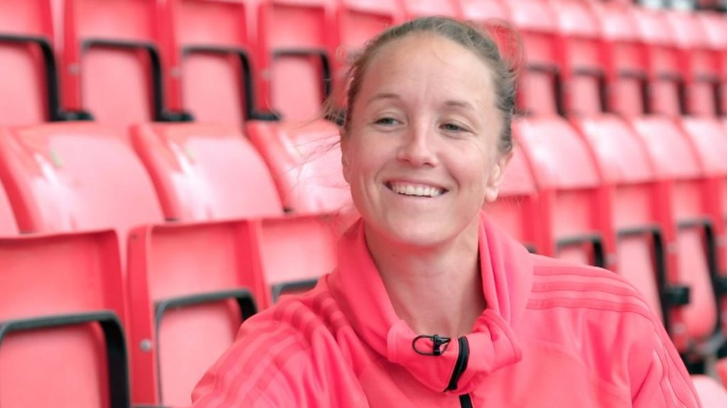 Casey Stoney looks ahead to Manchester United Women's first professional game