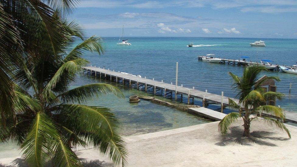 San Pedro, Ambergris Caye, Belice.