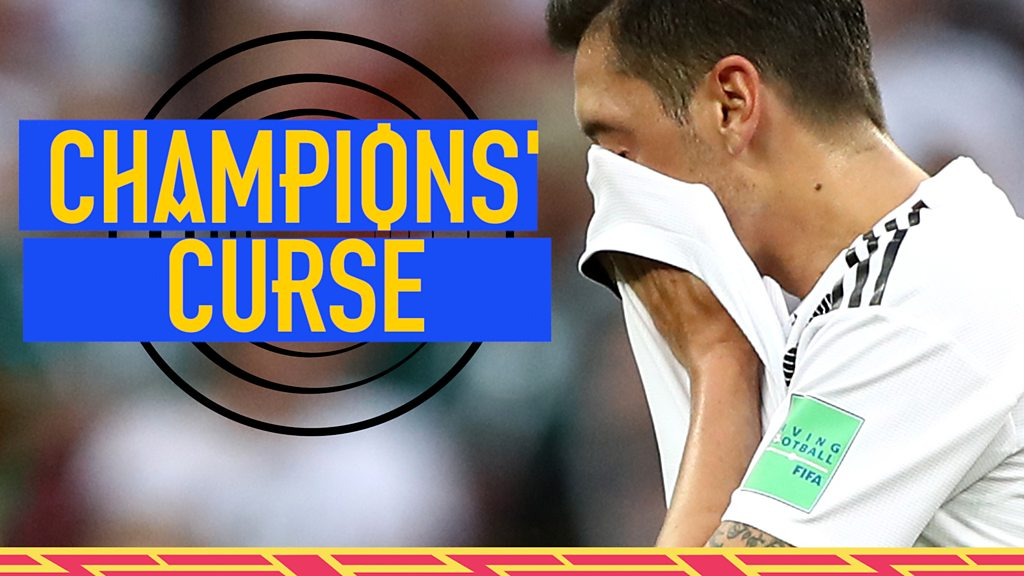 World Cup 2018: Are Germany suffering from the World Champions curse?