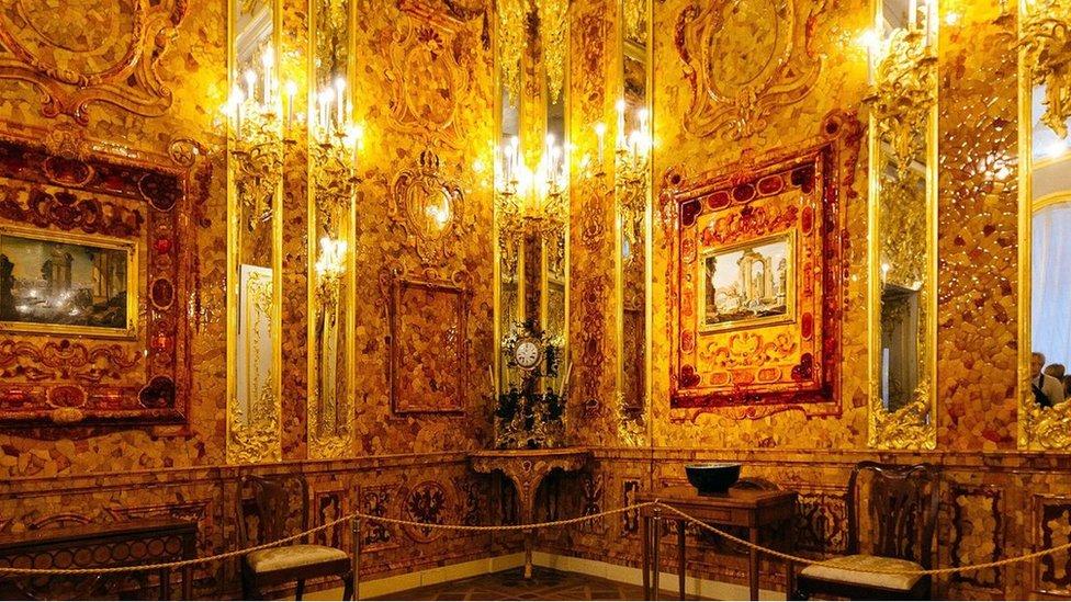 Sala de Ámbar.