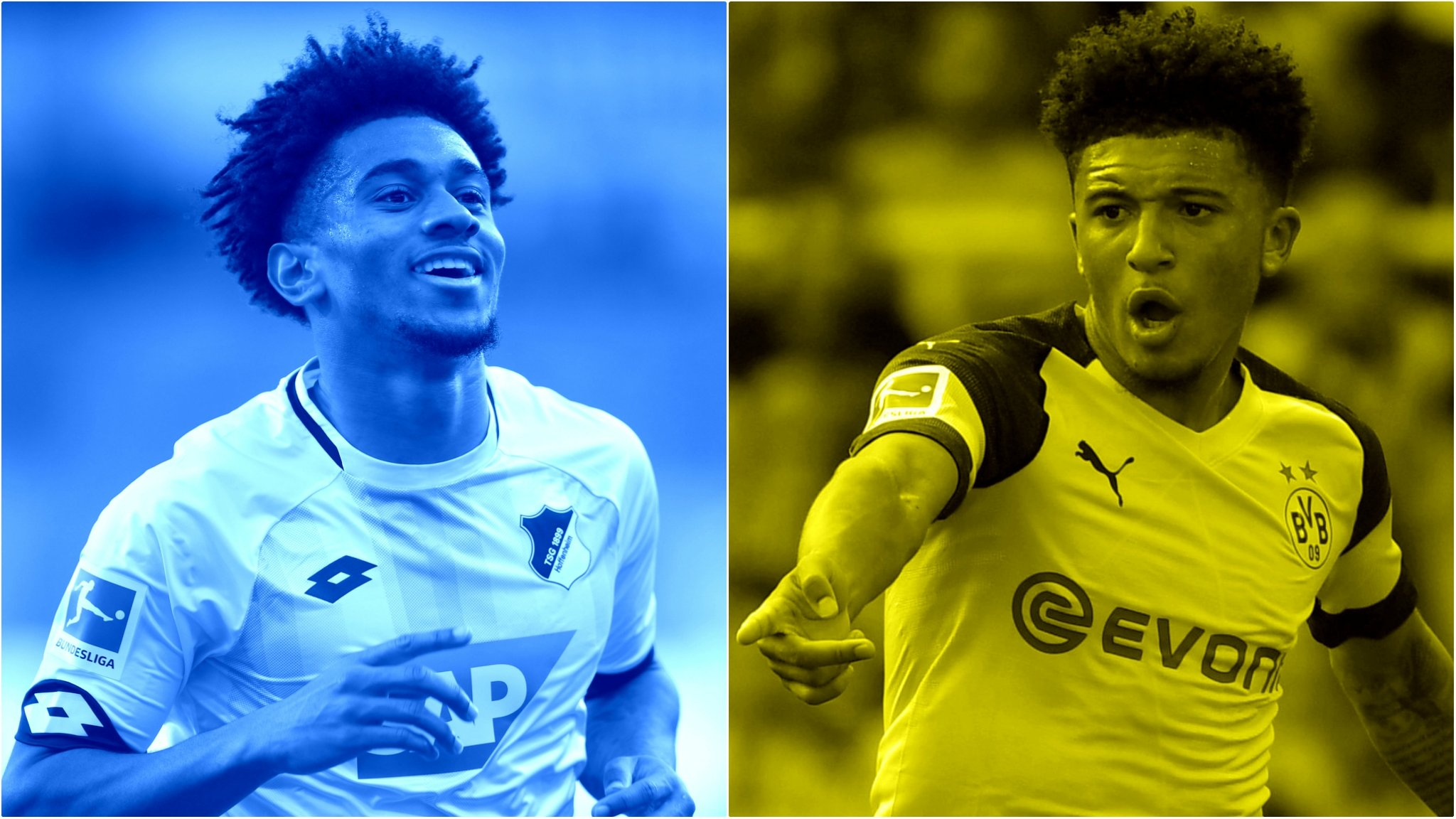 'Bundesliga has belief in young players' - Sancho & Nelson on life in Germany