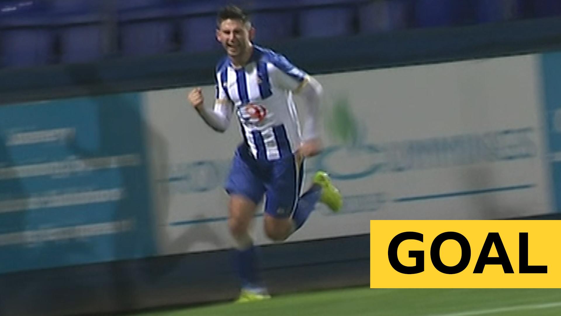 FA Cup: Hartlepool's McLaughlin strike stuns League One Gillingham
