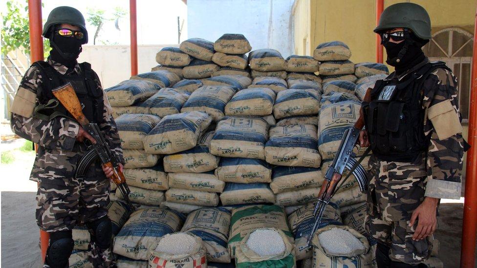 استخدمت حركة طالبان هذه المادة في صنع متفجرات