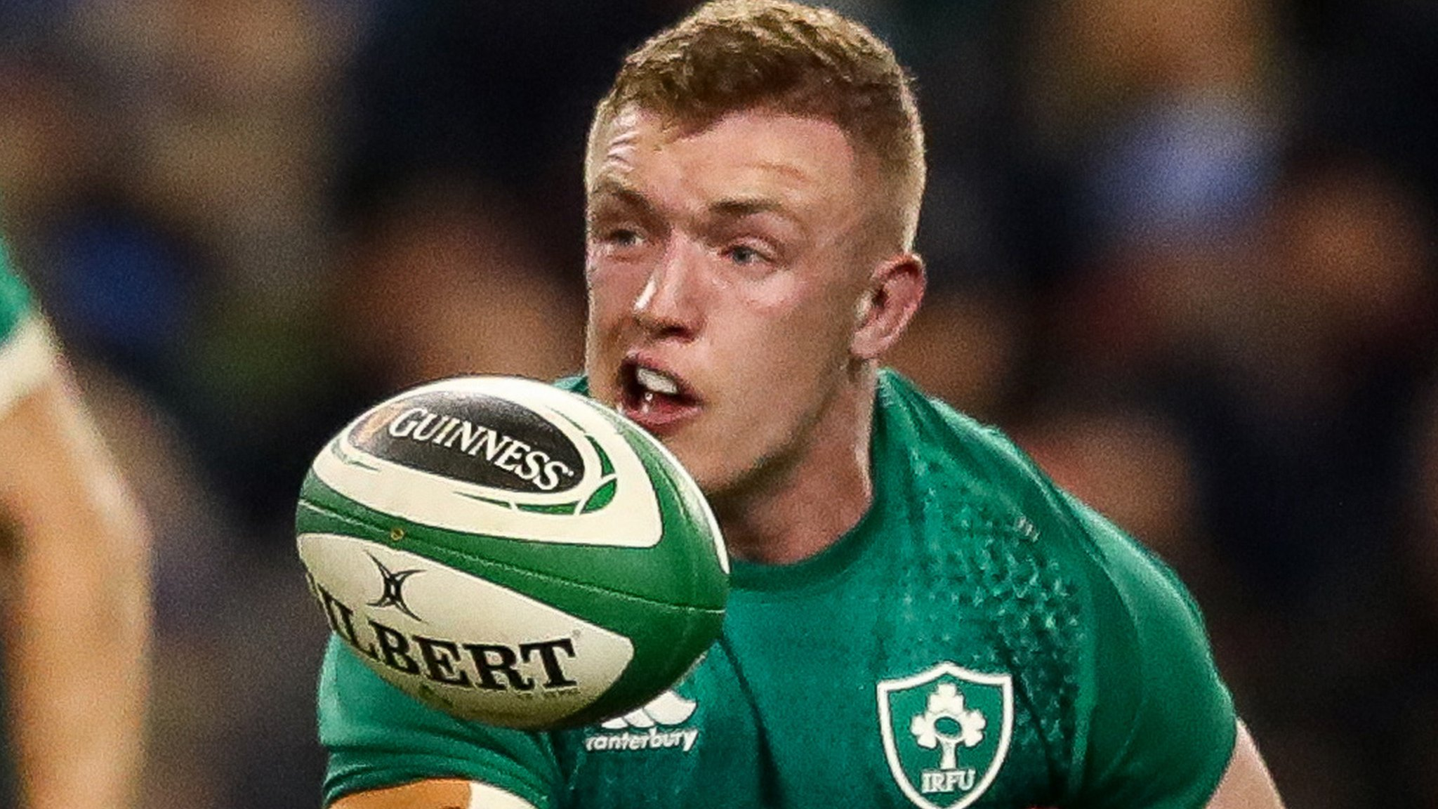 Ireland v New Zealand: Irish flanker Leavy out of Dublin game