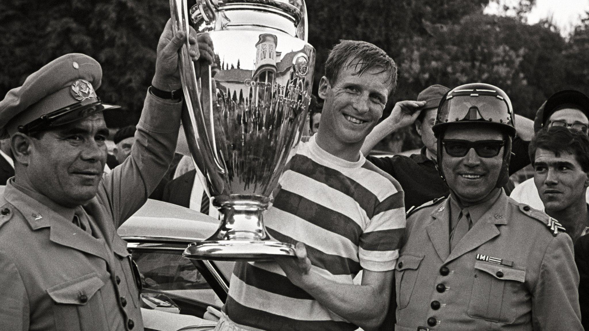 Celtic legend McNeill - the first Briton to lift the European Cup - dies, aged 79