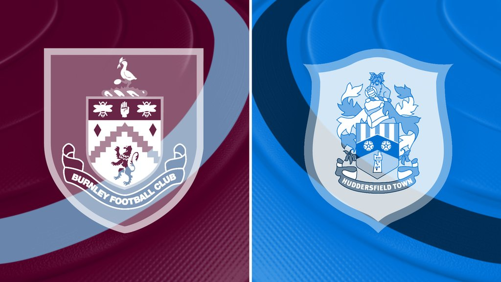 Image result for Burnley vs Huddersfield Town