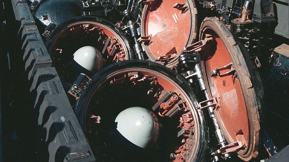 Torpedos.