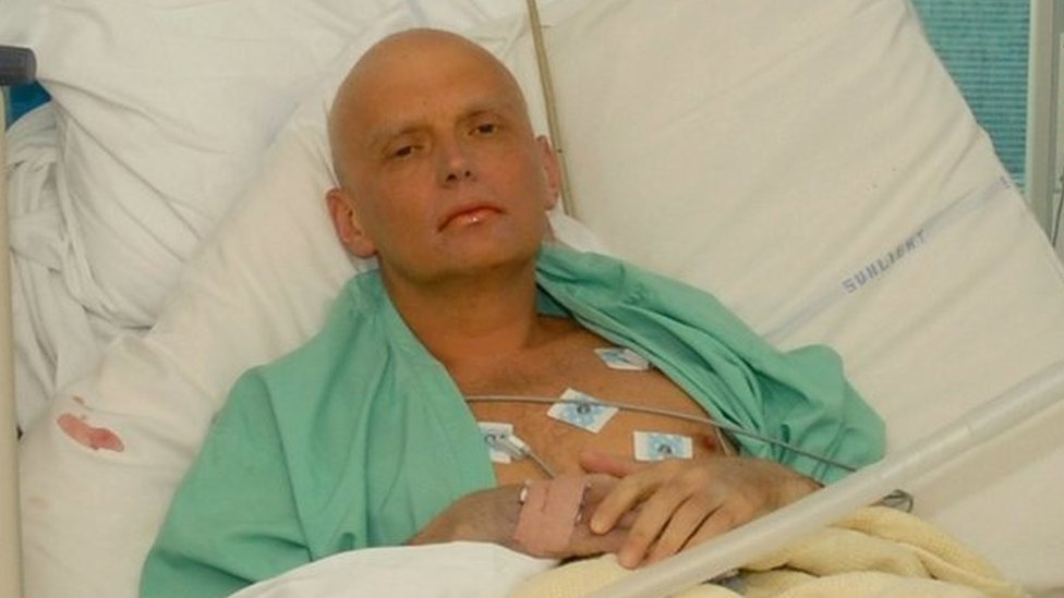Former Russian Agent Poisoned In London: Alexander Litvinenko is pictured at the Intensive Care Unit , ICU of University College Hospital, UCH, on November 20, 2006