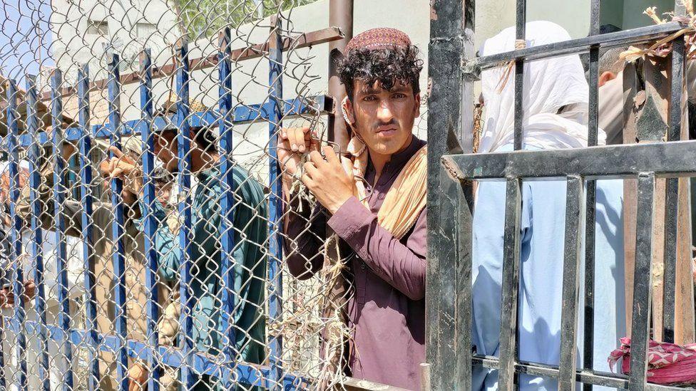 لاجئون أفغانيون