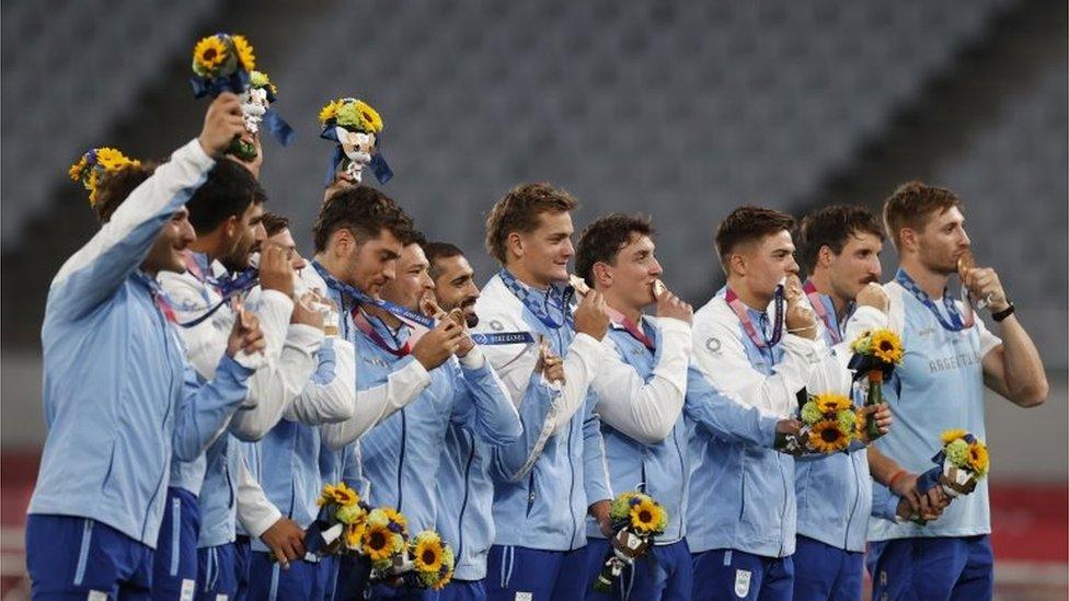 Selección Argentina de rugby 7