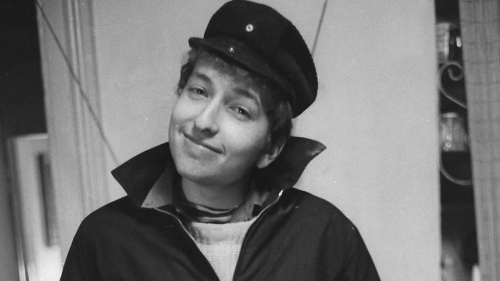 BBC News - Photos of a young Bob Dylan seen for the first time