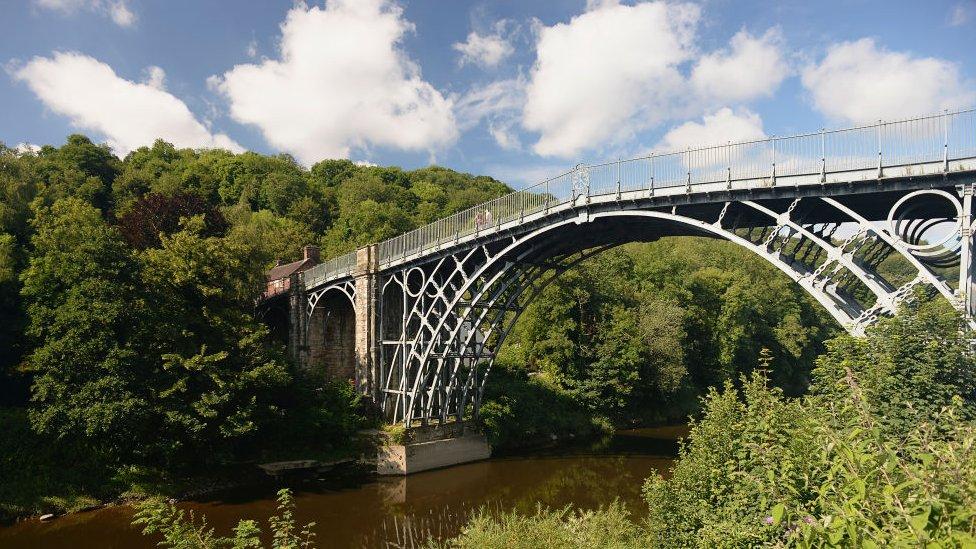 The Iron Bridge in Shropshire