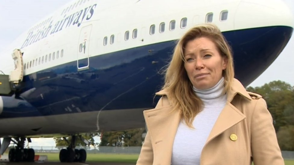 CEO of Cotswold Airport Suzannah Harvey