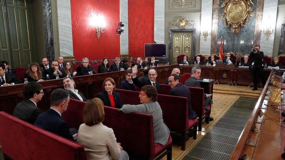 Madrid suđenje Katalonija