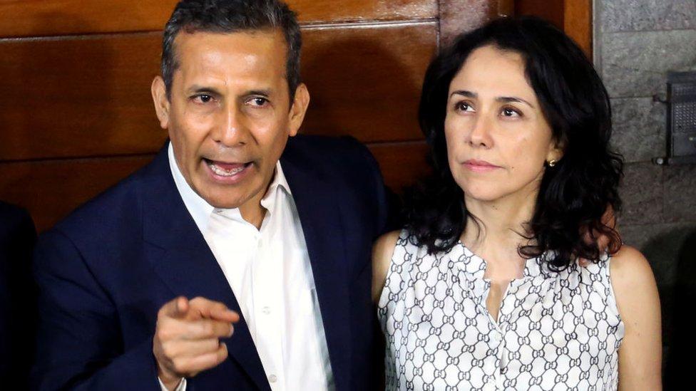 NO USAR. BBC. Ollanta Humala y Nadine Heredia