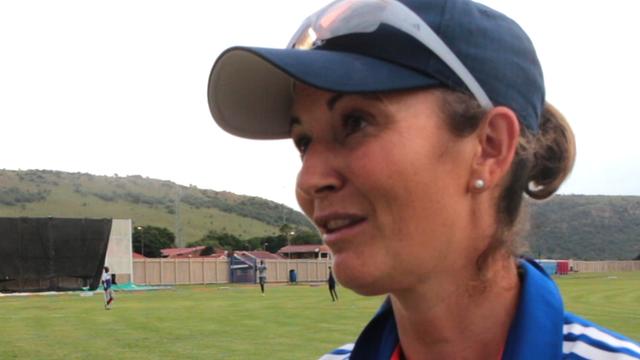 England captain Charlotte Edwards on new coach Mark Robinson