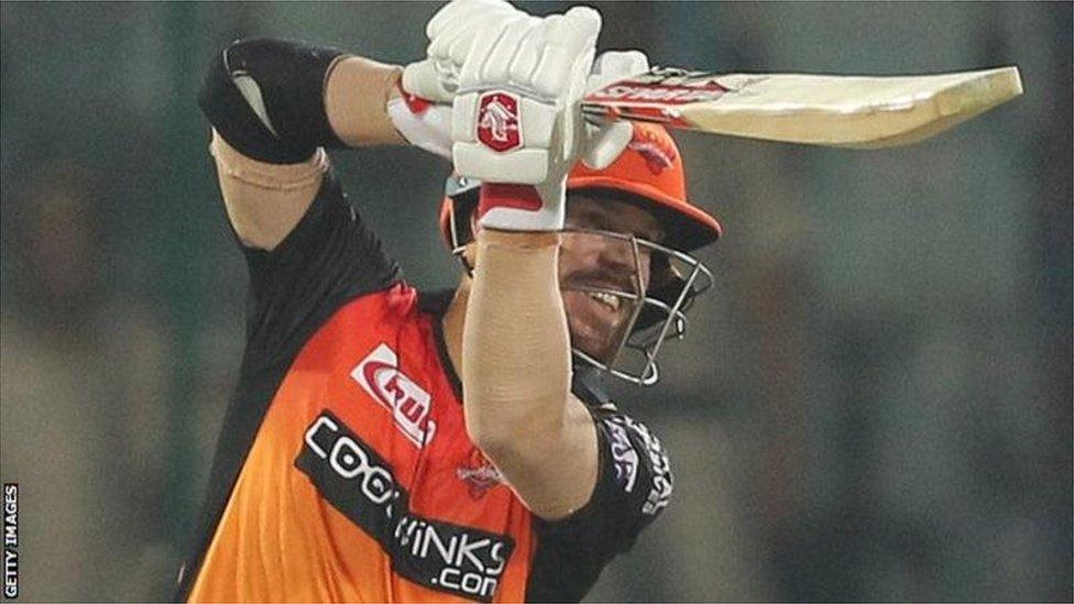 IPL 2019: वाह वार्नर, जाते-जाते जिता गए हैदराबाद को