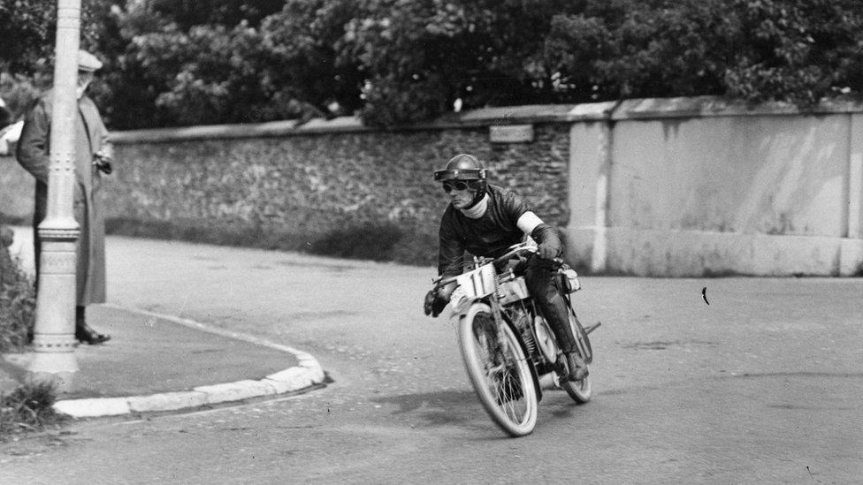 TT race in 1912
