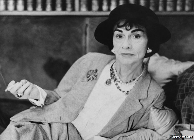 Coco Chanel in 1962