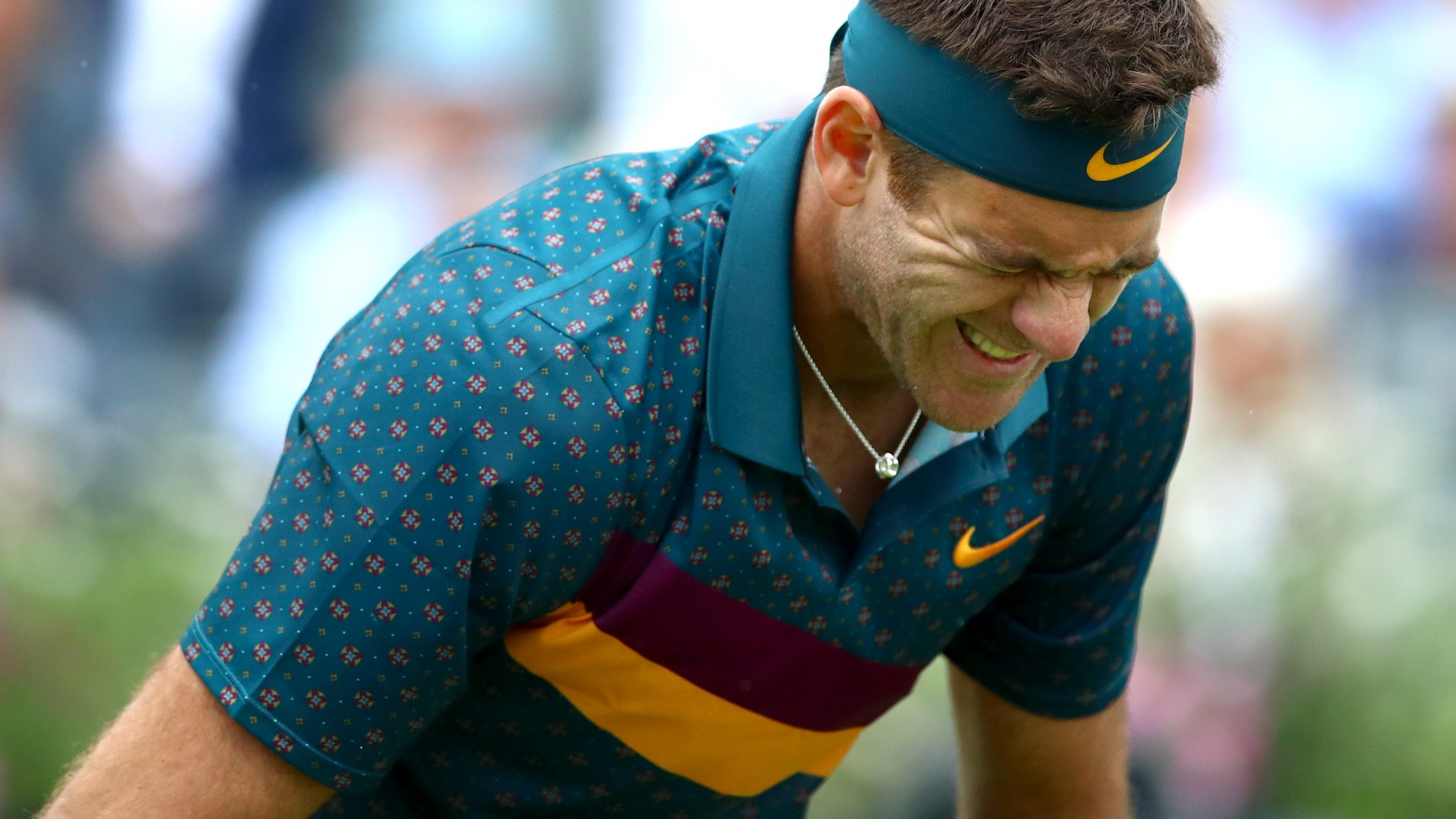 Juan Martin del Potro to have surgery on right knee after fracture