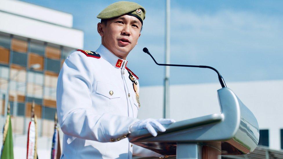 El teniente coronel Cho