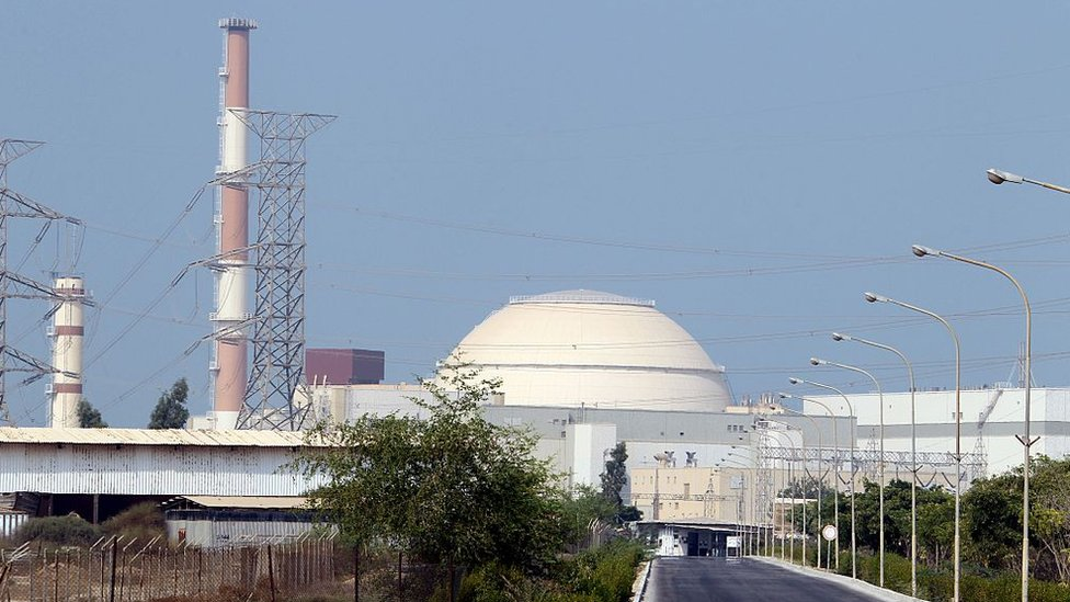 PLanta nuclear iraní