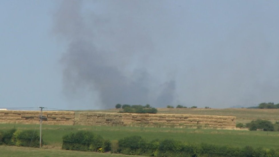Salisbury Plain live firing ranges