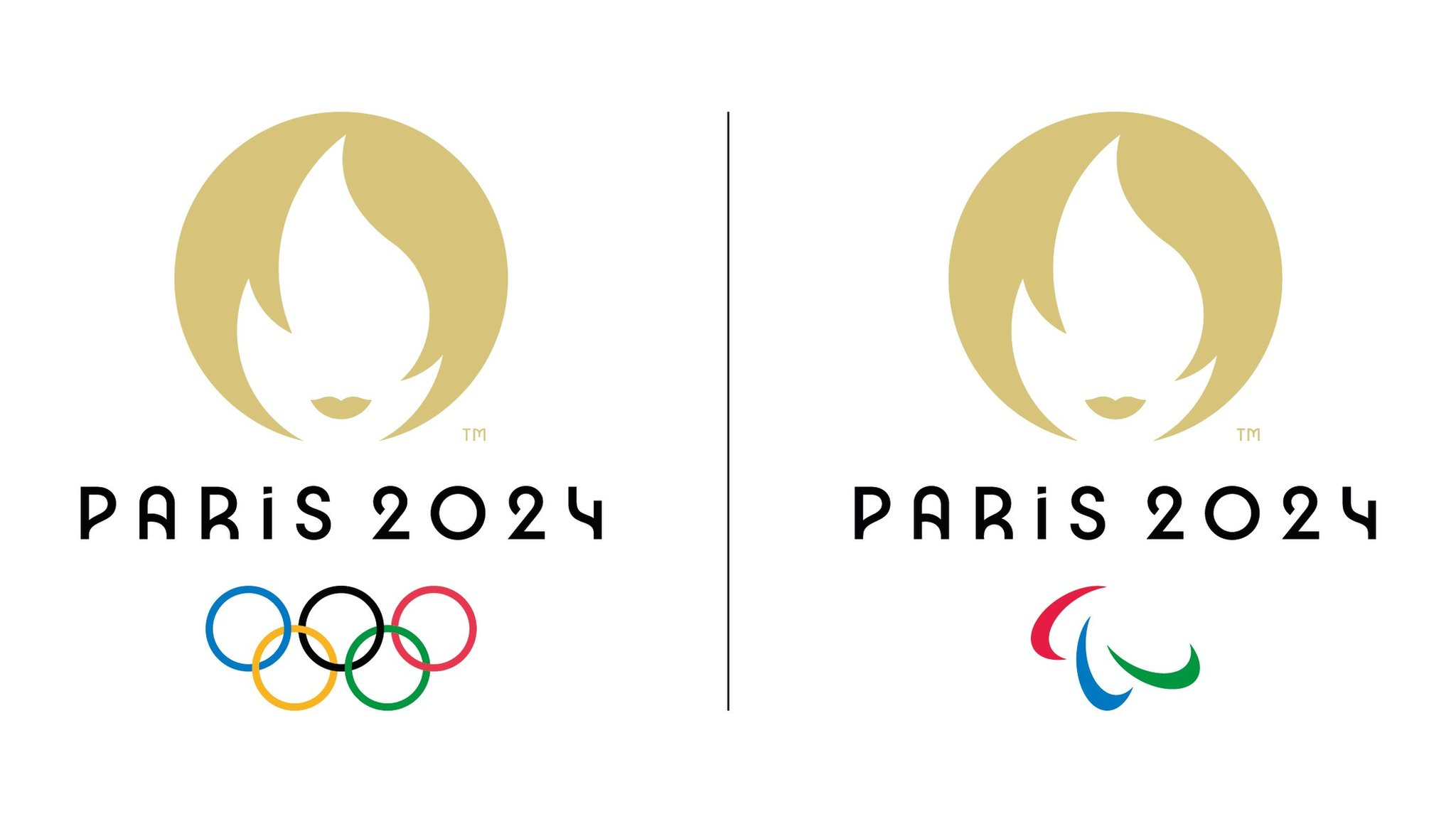 Olympic flame or dating ad Paris 20 logo divides opinion   BBC News
