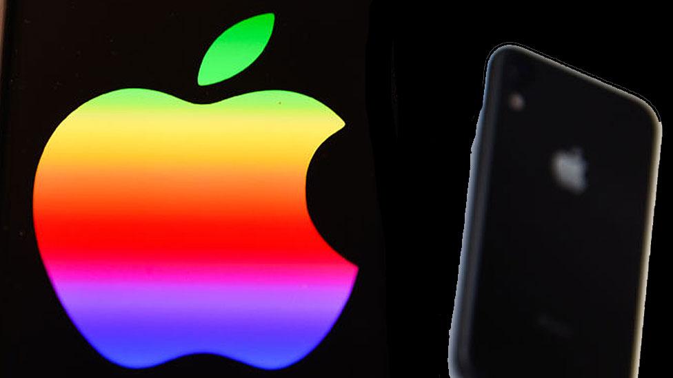 Manzana del logo de Apple