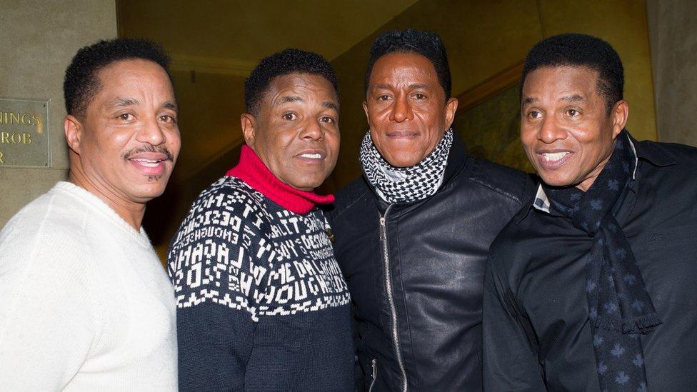Los hermanos Jackson