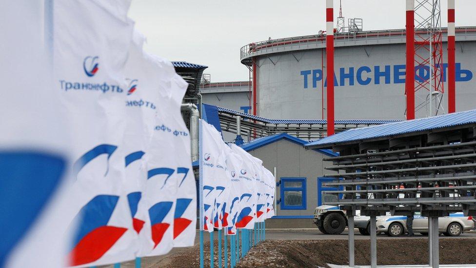 Скандал с грязной российской нефтью в