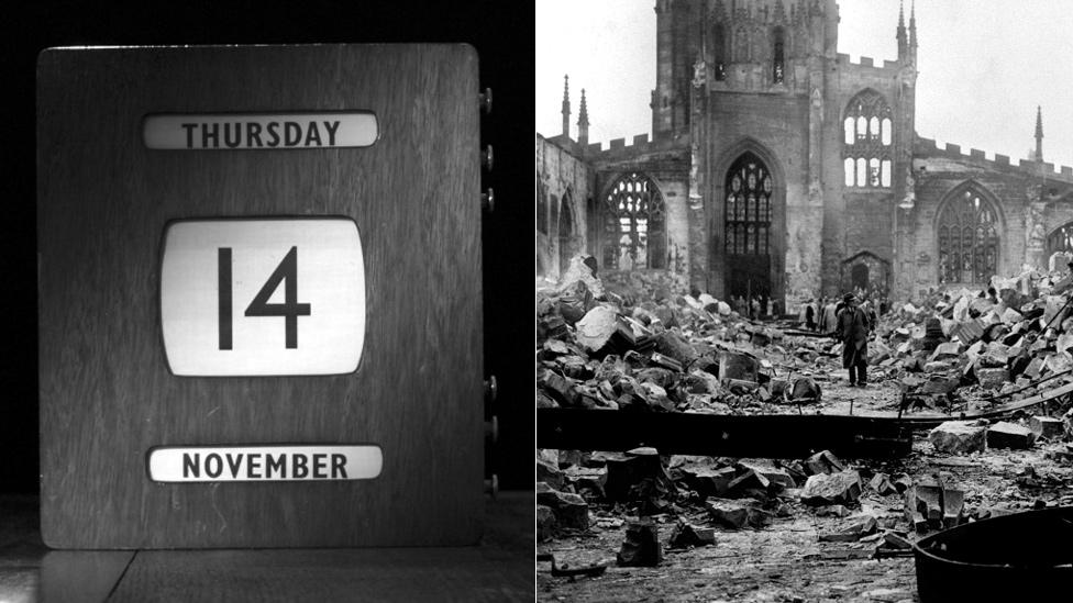 Calendar and bomb site