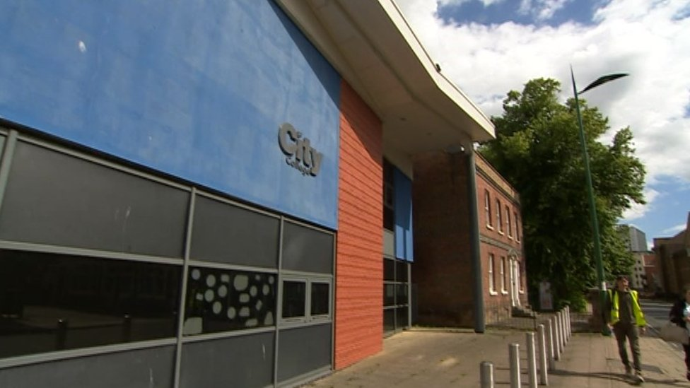 City College Southampton Merger With Itchen College Rejected Bbc News