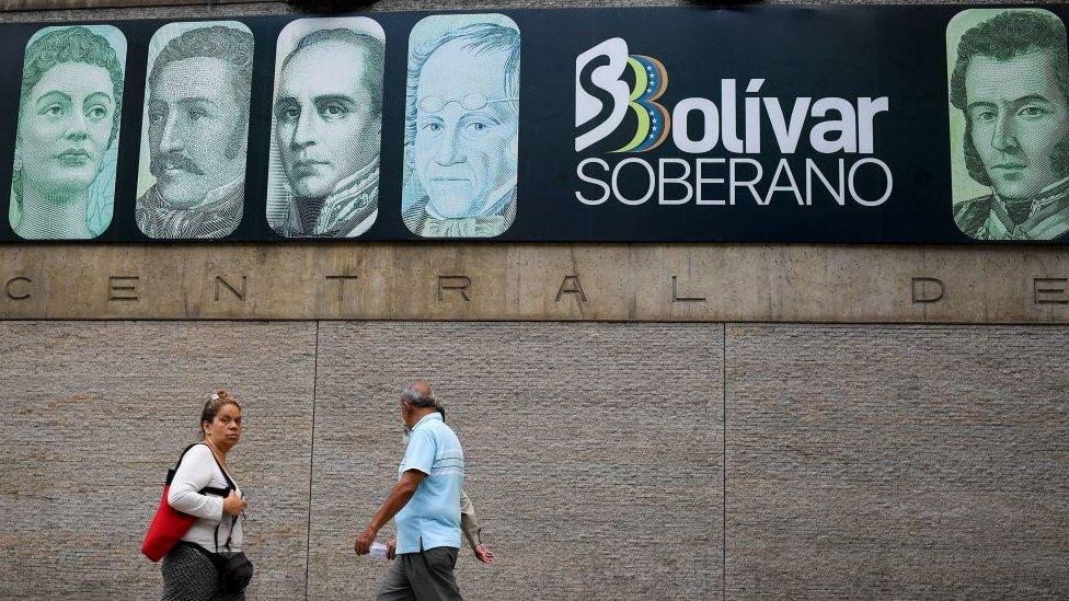 Banco Central de Venezuela.
