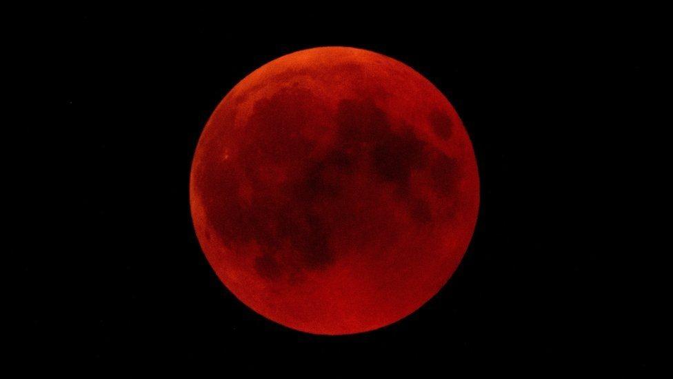 Luna de sangre en Alemania