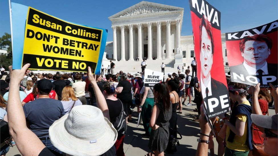 Protest ispred Vrhovnog suda