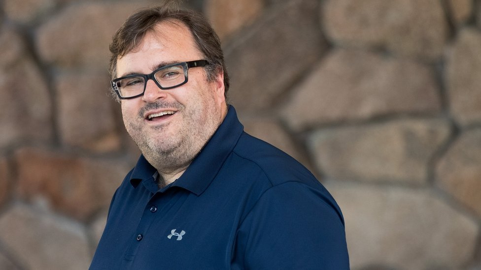 LinkedIn's Reid Hoffman has been focusing on the idea that the remorseless pursuit of scale is what gives data-based companies their advantage
