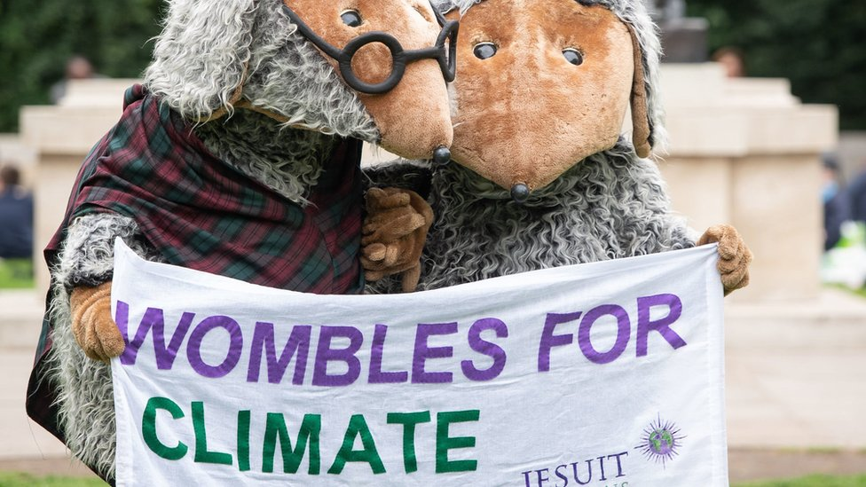 Wombles in Westminster