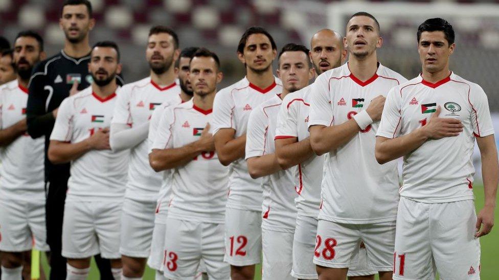 Selección de Palestina