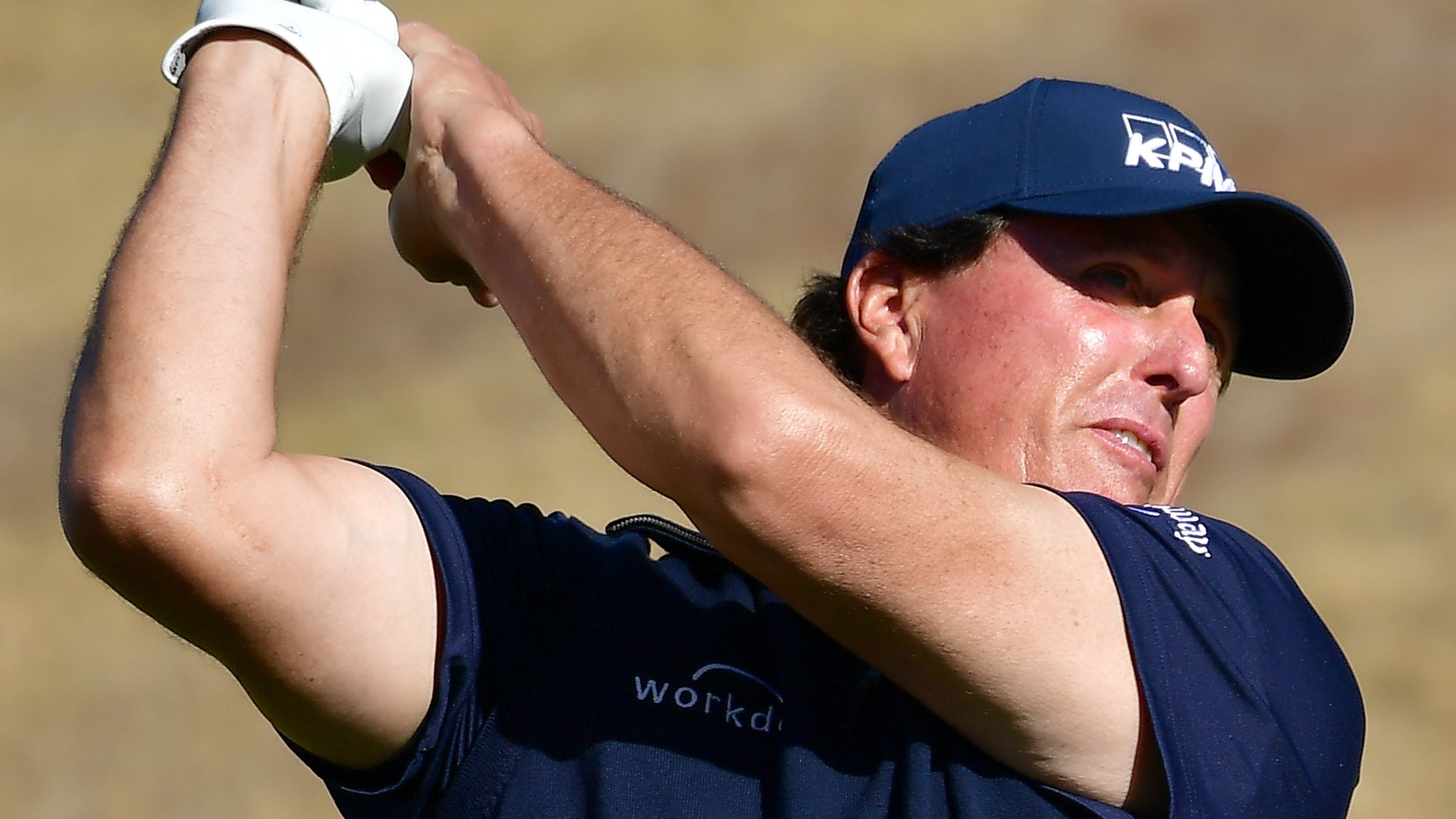 Desert Classic: Phil Mickelson stays two shots ahead after third round