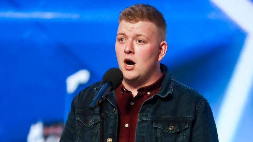 Britain S Got Talent Golden Buzzer For Anglesey Opera Singer Bbc News